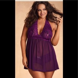 79fe47ee46 hips and curves Intimates   Sleepwear - Hips and Curves bundle of lingerie